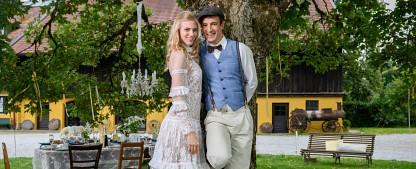 """""""Sturm der Liebe"""": Termin für Traumhochzeit und neues Hauptdarstellerpaar stehen fest – Alicia und Victor geben sich im Oktober das Ja-Wort – Bild: ARD/Christof Arnold"""