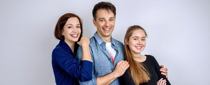 """""""Sturm der Liebe"""": Wiedersehen mit Lorenzo Patané und Uta Kargel – Paulina Hobratschk wird neue Hauptdarstellerin – Bild: ARD/Christof Arnold"""