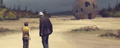 """""""Tales from the Loop"""": Eine Serie wie bedeutungsvolles Schweigen – Review – Elegische Gedankenspiele über fantastische Möglichkeiten – Bild: Prime Video"""