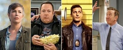 """Upfronts-Splitter: """"Wayward Sisters"""", """"Kevin Can Wait"""" und """"Brooklyn Nine-Nine"""" – Hintergrundinformationen zu den Upfronts-Entscheidungen – Bild: The CW, CBS, FOX, 20th Century Fox TV"""