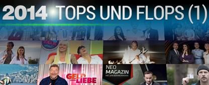 Die nationalen Flops des TV-Jahres 2014 – 33 nationale Tiefpunkte im Rückblick – von Glenn Riedmeier