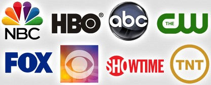 TV in the USA: Was Sie schon immer übers US-Fernsehen wissen wollten…(Teil 1) – Von Networks, Lokalsendern und Kabelkanälen – von Ralf Döbele – Bild: NBC/HBO/ABC/The CW/FOX/CBS/Showtime/TNT