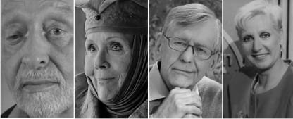 TV-Stars, von denen wir 2020 Abschied nehmen mussten – Erinnerungen an herausragende Fernsehschaffende – Bild: ZDF/Uwe Kielhorn/Hermann Roth/HBO/WDR