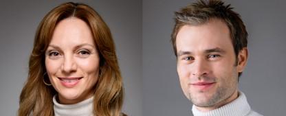 """""""Sturm der Liebe"""": Zwei neue Hauptdarsteller versprechen Liebeschaos – Christopher Reinhardt und Viola Wedekind neu in ARD-Telenovela – Bild: ARD/Christof Arnold"""