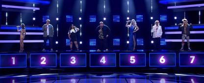 """""""I Can See Your Voice"""": Kann es mehr als eine Musik-Rateshow geben? – Review – Neue RTL-Show setzt auf bewährte Zutaten – Bild: RTL/Screenshot"""