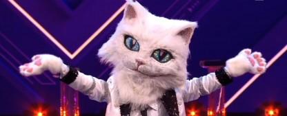 """Letzte """"The Masked Singer""""-Enthüllung vor dem Finale: Die Katze ist…– Die fünfte Maske bei der ProSieben-Rateshow ist gefallen – Bild: ProSieben/Screenshot"""