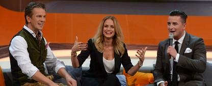 """Quoten: Kein neuer Tiefstwert für vorletzte """"Wetten, dass..?""""-Ausgabe – """"Supertalent"""" und """"Stock Car Crash Challenge"""" bei den Jungen gefragt – Bild: ZDF/Sascha Baumann"""