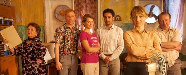 """""""Das Institut"""": Zweite Staffel feiert im März TV-Premiere – BR nimmt zweite Staffel der Comedyserie ins Programm – Bild: BR/NDR/WDR/Novafilm GmbH"""
