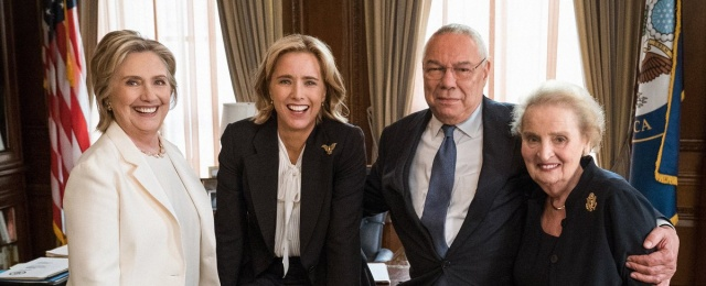 """Madam Secretary"": Sky 1 zeigt fünfte Staffel als Deutschlandpremiere – Showtime-Comedy ""Work in Progress"" landet bei Sky Atlantic – Bild: Madeleine Albright/Twitter"