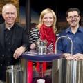 """BR-Kabarettshow """"Die Klugscheißer"""" ab Mai im Ersten – Jonas, Gruber & Kavanian sollen Humordefizit ausgleichen – Bild: BR"""