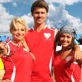 """Schlagabtausch der ARD-Dailys im Beachvolleyball – Teams von """"VL"""", """"Sturm der Liebe"""" und Co. im Juli in Cuxhaven – Bild: ARD/Picture Puzzle Medien"""