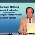 """DDR-Fernsehnachrichtenchef Hans-Dieter Lange gestorben – """"Aktuelle Kamera""""-Sprecher wurde 86 Jahre alt – © Fernsehen der DDR / DRA"""