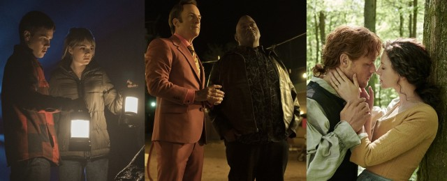 "Netflix-Highlights im Februar: ""Better Call Saul"", ""Locke & Key"", ""Outlander"" und Studio-Ghibli-Meisterwerke – Neue Staffeln von ""Narcos: Mexico"", ""Van Helsing"", ""Altered Carbon"" – Bild: Netflix/Starz/Sony Pictures TV"