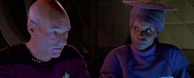 """""""Star Trek: Picard"""": Patrick Stewart lädt Whoopi Goldberg zu Staffel zwei ein – Guinan vor Rückkehr ins """"Star Trek""""-Universum – Bild: Paramount"""