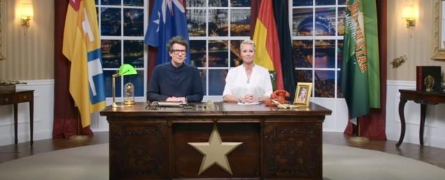 """Offiziell: Diese Stars schickt RTL ins nächste """"Dschungelcamp"""" – Daniel Hartwich und Sonja Zietlow halten Neujahrsansprache – Bild: RTL/Screenshot"""