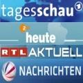 """Nachrichten-Flaggschiffe verlieren deutlich Zuschauer – """"Tagesschau"""" und """"heute"""" auf neuem Tiefpunkt – Bild: Das Erste, ZDF, RTL, Sat.1"""