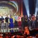 """Helene Bockhorst und Joël von Mutzenbecher im Rennen um den """"RTL Comedy Grand Prix 2018"""" – """"Ultimative Chart Show"""" kürt die besten Songs der 90er – Bild: MG RTL D / Frank Dicks"""