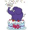 """Zwei Geburtstage bei der """"Sendung mit der Maus"""" – Armin Maiwald wird 75, der kleine blaue Elefant wird 40 – Bild: WDR/Bettina Fürst-Fastré"""