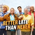 """Better Late Than Never"": NBC verlängert William Shatners Realityshow – Vier Promis gehen auf Reise – © NBC"