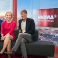 """Neuer Look für das """"ARD-Morgenmagazin"""" – Runderneuerte Studio-Deko feiert am Montag Premiere – © WDR/Ben Knabe"""