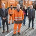 """""""Die Drei von der Müllabfuhr"""": Ochsenknecht, Hentschel und Arami drehen wieder – Zwei neue Folgen der ARD-Degeto-Reihe – Bild: ARD Degeto/Britta Krehl"""
