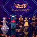 """""""The Masked Singer""""-Finale: Alle Masken sind gefallen und der Sieger ist…– Skelett, Anubis, Nilpferd, Alien und die Erdmännchen sind enttarnt – Bild: ProSieben/Screenshot"""