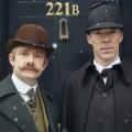 """""""Sherlock"""": Neuer Trailer präsentiert """"The Abominable Bride"""" – Holmes und Watson treffen 1895 auf einen Geist – Bild: BBC one"""