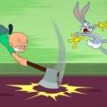 """""""Looney Tunes"""" ohne Gewehr: Elmer Fudd muss Bugs Bunny ohne Schusswaffe jagen – Neuauflage ohne Waffen, aber mit gewohnter Anarchie – © Warner Bros. Animation"""