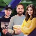 """""""Filmgorillas"""": Neues Serien- und Filmmagazin im ZDF – Steven Gätjen, Maria Ehrich und Ehepaar Schröckert besprechen Filmstarts – Bild: ZDF"""