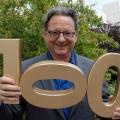 """Günter Grünwald feiert 100 Folgen """"Freitagscomedy"""" – Jubiläumsausgabe mit vielen Gästen im September – © BR/Sabrina Litzinger"""