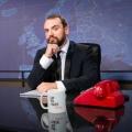 """Ingmar Stadelmann: """"Das Grundgesetz beinhaltet die Scherzgrenze"""" – """"CC:N""""-Anchorman über RTL-isierte Comedy und """"Fressefreiheit"""" – Bild: Comedy Central/Jasmina Striga"""