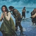 """BBC zeigt Hitchcock-Remake """"Jamaica Inn"""" ab Ostermontag – Jessica Brown Findlay als Waisenkind unter Schmugglern – © BBC"""