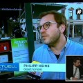 """Irre: Joko & Klaas """"kapern"""" 15 Minuten lang das RTL-Programm – Entertainer präsentieren """"ProSieben RTL Spezial mit Pfiff"""" – © ProSieben/RTL Screenshot"""