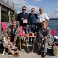 """Mariele Millowitsch steht für neue ARD-Reihe vor der Kamera – """"Käthe und ich"""" mit tierischer Psychologin – Bild: ARD Degeto/Christiane Pausch"""