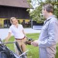 """""""Sturm der Liebe"""": Adliger Neuzugang am Fürstenhof – Katja Rosin kommt als attraktive Society-Lady zur ARD-Telenovela – Bild: ARD/Christof Arnold"""