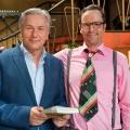 """Krömer – Late Night Show"": Dritte Staffel startet im Oktober – Kurt Krömer begrüßt Klaus Wowereit, Hans Sigl, Scooter und Co. – Bild: rbb/Max Kohr"