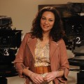 """Lilly Becker besucht """"Dahoam is Dahoam"""" – Prominenter Besuch in BR-Vorabendserie – Bild: BR/Marco O. Pichler"""