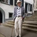 """Schauspieler Lukas Ammann (""""Graf Yoster"""") mit 104 Jahren verstorben – Er spielte auch lange Zeit bei """"Die Fallers"""" mit – Bild: SWR/Katrin Grünewald"""