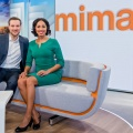 """ZDF-Mittagsmagazin"": Erster Blick ins Berliner Studio – Neustart am 3. April mit Jana Pareigis als Moderatorin – © ZDF/Svea Pietschmann"
