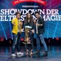 """Ehrlich Brothers küren den """"weltbesten Magier"""" demnächst am Sonntag – Neue Ausgabe des Zauberer-Wettkampfs bei RTL – © MG RTL D/Sebastian Konopix"""