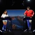 """""""On Mai Way"""": Neuer Schlager-Talk mit Vanessa Mai auf dem Laufband – Wie fit sind Ikke Hüftgold, Giovanni Zarrella, Jochen Schropp und Co.? – Bild: SWR/Drive beta"""