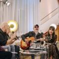"""Versteckte TV-Perlen: """"Privatkonzert"""" mit Stephanie Stumph und Wigald Boning – Neue Wohnzimmerkonzerte im MDR – Bild: MDR/DW/Marcel Schroeder"""