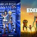 """""""Eden"""", """"High-Rise Invasion"""" und mehr: Anime-Nachschub bei Netflix – Vier neue Titel mit Trailern angekündigt – © Netflix"""