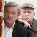 """Die """"Rentnercops"""" kehren im November zurück – Zweite Staffel mit Tilo Prückner und Wolfgang Winkler – Bild: ARD/Kai Schulz Fotodesign"""