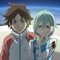 """ProSieben Maxx zeigt Anime """"Eureka Seven"""" als Free-TV-Premiere – Rebellischer Junge trifft auf geheimnisvolle Pilotin – © 2005 BONES / Project EUREKA"""