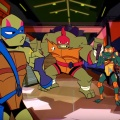 "Neue ""Turtles""-Serie: Trailer und Starttermin zur 2D-Neuauflage – ""Rise of the Teenage Mutant Ninja Turtles"" ab September – Bild: Nickelodeon"