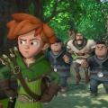 "Ab März im KiKA: Auch ""Robin Hood"" kämpft bald im 3D-Look – Weiterer Klassiker als CGI-Variante – © ZDF/Method Animation/DQ Entertainment/Fabrique d'images/ZDF Enterprises/De Agostini"