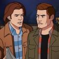"""""""Supernatural"""": Erster Trailer zur """"Scooby-Doo""""-Episode – Sam und Dean treffen auf den berühmten Cartoon-Hund – © The CW"""