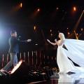 """Live-Hochzeit in Silbereisens """"Schlagerlovestory"""" – Anna-Carina Woitschack und Stefan Mross geben sich das Jawort – © ARD/JürgensTV/Dominik Beckmann"""