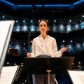 """Stephanie Stumph wird für das ZDF zur schwedischen Dirigentin – """"Inga Lindström""""-Verfilmung """"Klang der Sehnsucht"""" im September – © ZDF/Arvid Uhlig"""